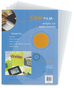 Clear Film, Set of 3 Sheets