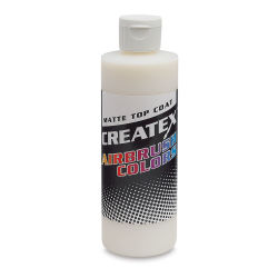 Createx Airbrush Additives and Mediums - 8 oz, Clear Matte, Top Coat