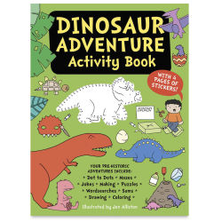 Dinosaur Adventure Activity Book cover