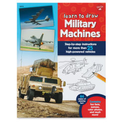 Walter Foster Learn to Draw Series - Military Machines