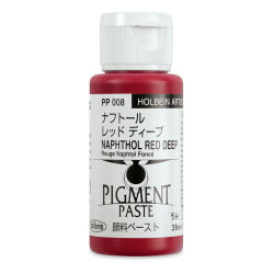 Holbein Tosai Pigment Paste - Naphthol Red Deep, 35 ml