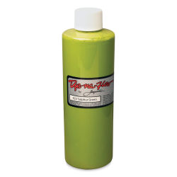 Jacquard Dye-Na-Flow Fabric Color - Sulpher Green, 8 oz bottle