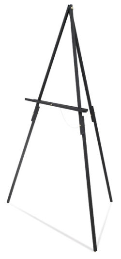 Blick Studio Display Easel - Black, Tripod Floor