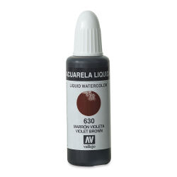 Vallejo Liquid Watercolor - Violet Brown, 32 ml