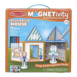 Melissa & Doug Magnetivity Building Sets - Draw and Build House