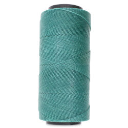 Beadsmith Knot-It Waxed Poly Cord - Teal Green