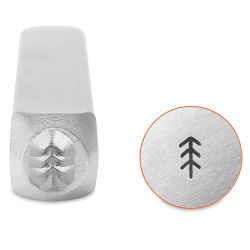ImpressArt Design Stamp - Simple Pine Tree, 4 mm