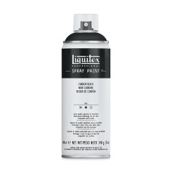 Liquitex Professional Spray Paint - Carbon Black, 400 ml can