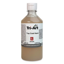 Tri-Art Top Coat Medium - Hard Gloss, 8 oz, Bottle