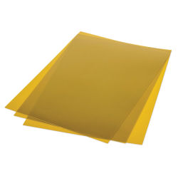 Grafix Metallic Shrink Film - Gold, Pkg of 50, 8-1/2'' x 11''