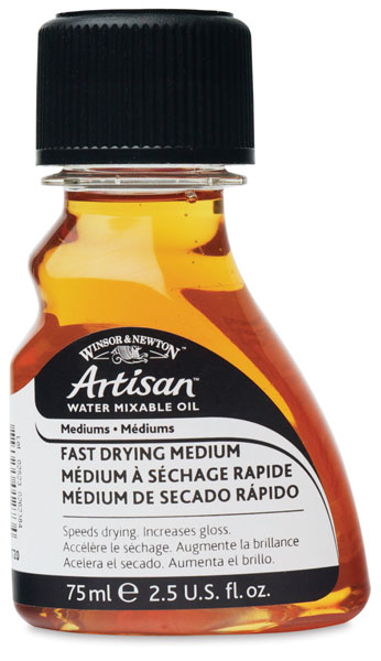 Winsor & Newton Artisan Water Mixable Oil Painting Medium - 250 ml bottle