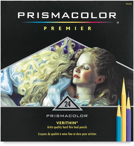 Prismacolor Verithin Pencil Set - Set of 24 Colors, Set of 24