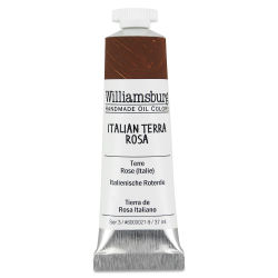 Williamsburg Handmade Oil Paint - Italian Terra Rosa, 37 ml tube