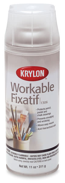 #1306 Workable Matte Fixative