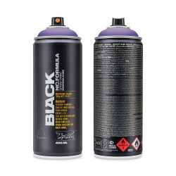 Montana Black Spray Paint - Wizard, 400 ml can