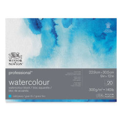 "Winsor & Newton Professional Watercolor Block - 9"" x 12"", Cold Press"