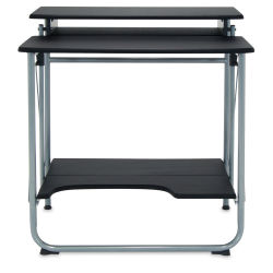 Studio Designs Stow Away Desk - Silver and Black