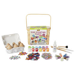 Kid Made Modern Egg Painting Party Kit