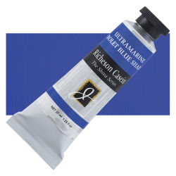 Shiva Casein Colors - Ultramarine Violet (Blue Shade), 37 ml tube