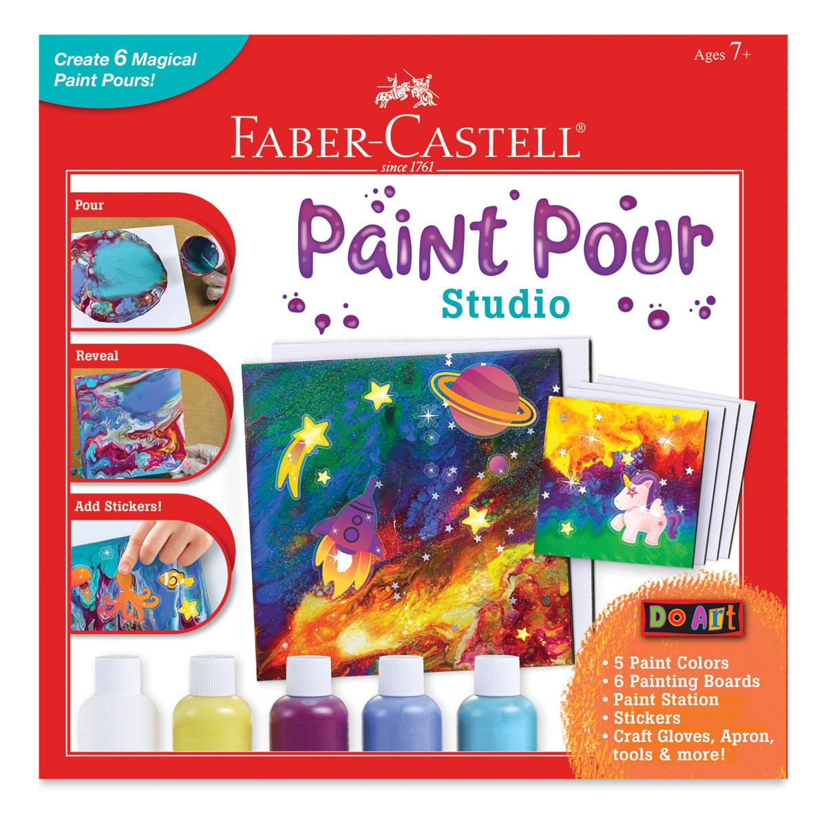 Faber-Castell Do Art Paint Pour Studio Kit