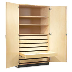 Diversified Woodcrafts Paper Storage Cabinet - Maple