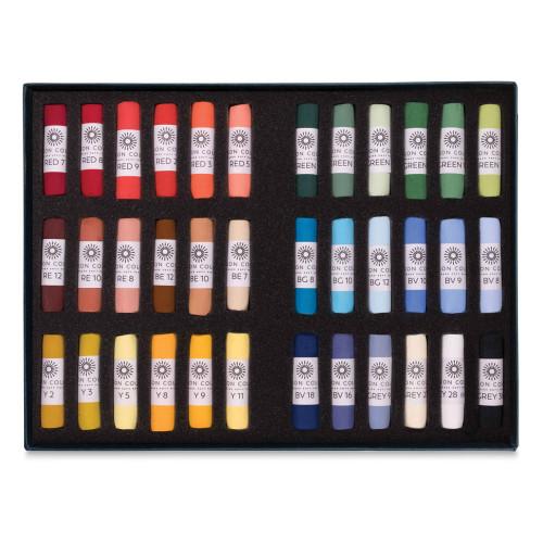 Unison Handmade Pastel Set - Starter Colors, Set of 36