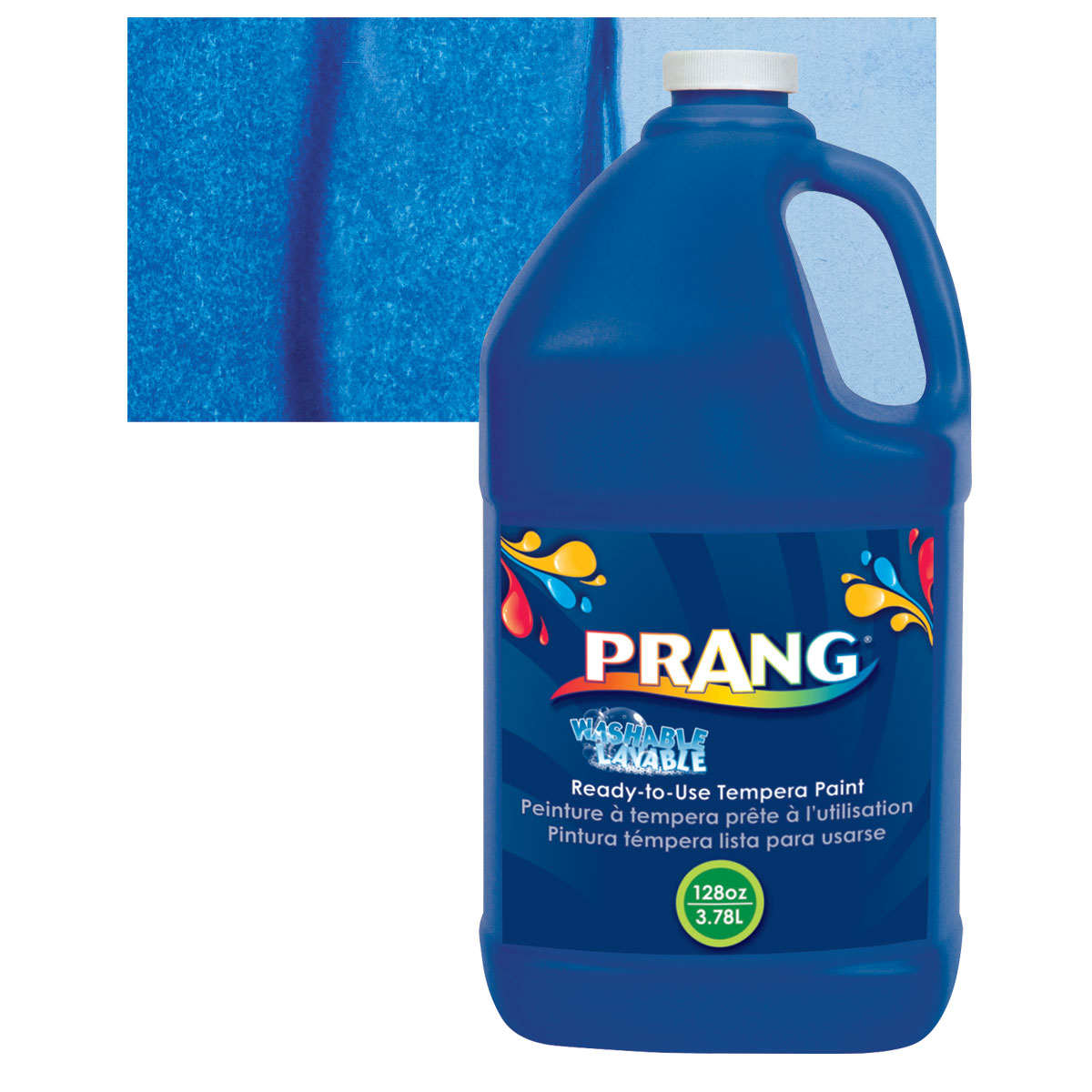 Prang Ready-To-Use Washable Tempera Paint - Blue, Gallon
