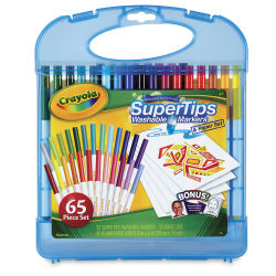 Crayola Super Tips Washable Marker Set - Sketch 'n Color