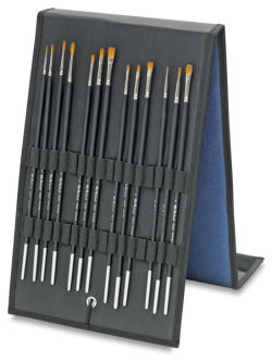 Old Holland Kolinsky Sable Brush Easel Gift Set - Set of 12