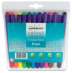 Colour Creative Markers, Set of 12