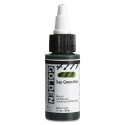 Golden High Flow Acrylics - Sap Green Hue, 1 oz bottle