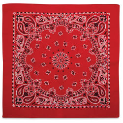 Carolina Paisley Bandana - Red