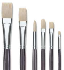 Utrecht Natural Chungking Pure Bristle Brushes and Sets
