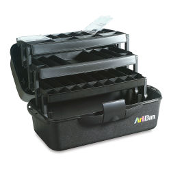 ArtBin Art/Craft Box - x 20'' x 10 1/4'' x 10 1/2'', Black, 3 Tray