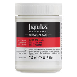 Liquitex Medium - Ultra Matte Gel Medium, Matte, 8 oz bottle