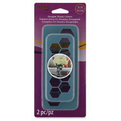 Premo! Sculpey Mosaic Cutters - Hexagon, Pkg of 2