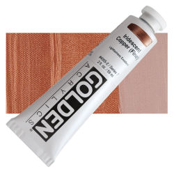 Golden Heavy Body Artist Acrylics - Iridescent Copper (Fine), 2 oz Tube