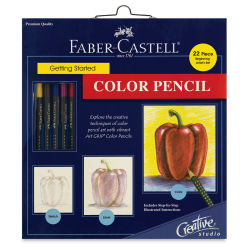 Faber-Castell Creative Studio Getting Started Watercolor Pencil Set