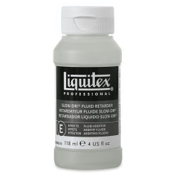 Liquitex Medium - Slow-Dri Fluid Retarder, 4 oz bottle