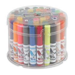 Pip-Squeaks Telescoping Tower, Set of 50 Colors