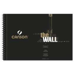 Canson The WALL Sketchbook - 8.26'' x 12.36'', Wirebound, 30 Sheets