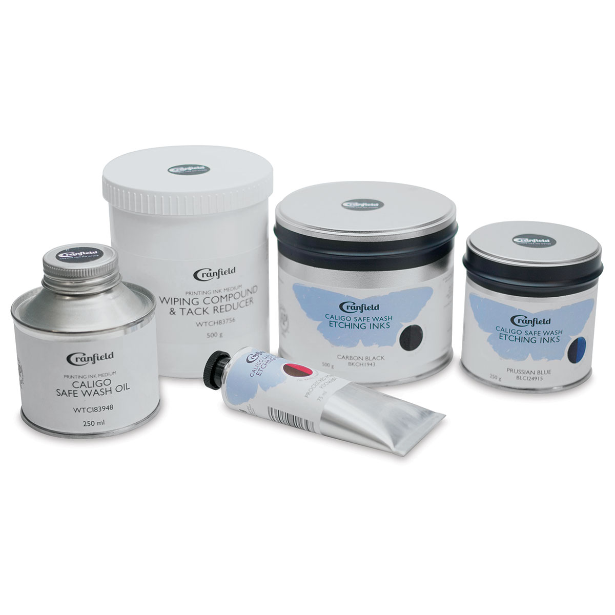 Cranfield Caligo Safe Wash Etching Inks