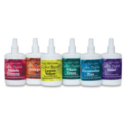 Ken Oliver Color Burst Watercolor Powders - Brights, Set of 6