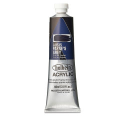 Holbein Heavy Body Artist Acrylics - Payne's Gray, 60 ml tube