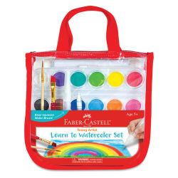Faber-Castell Young Artist Learn to Watercolor Set