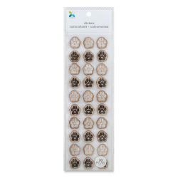 Momenta Wood Stickers - Paw Prints