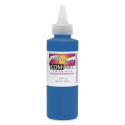 Iwata Com-Art Airbrush Color - 4 oz, Opaque Blue Violet