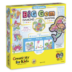 Faber-Castell Big Gem Diamond Painting Set - Sea Friends