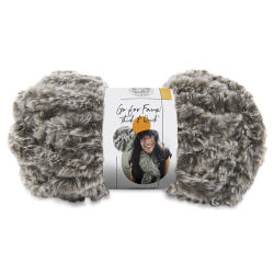 Lion Brand Go For Faux Thick And Quick Yarn - Chow Chow, 24 yds