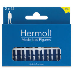 "Schulcz Scale Model Figures - Hermoli Standing, Pkg of 24, 1:200, 1/16"" (front of box)"